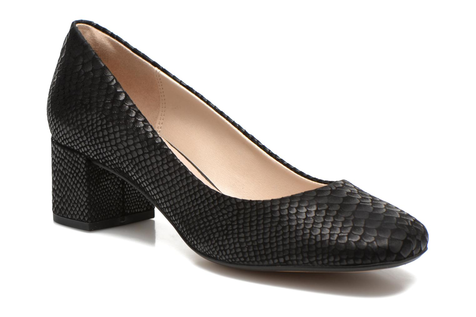 High heels Clarks Chinaberry Gem Black detailed view/ Pair view