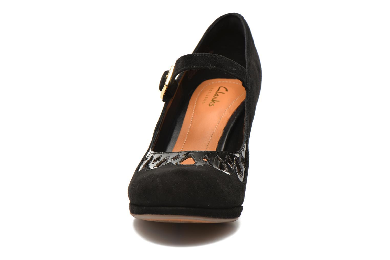 High heels Clarks Chorus Music Black model view