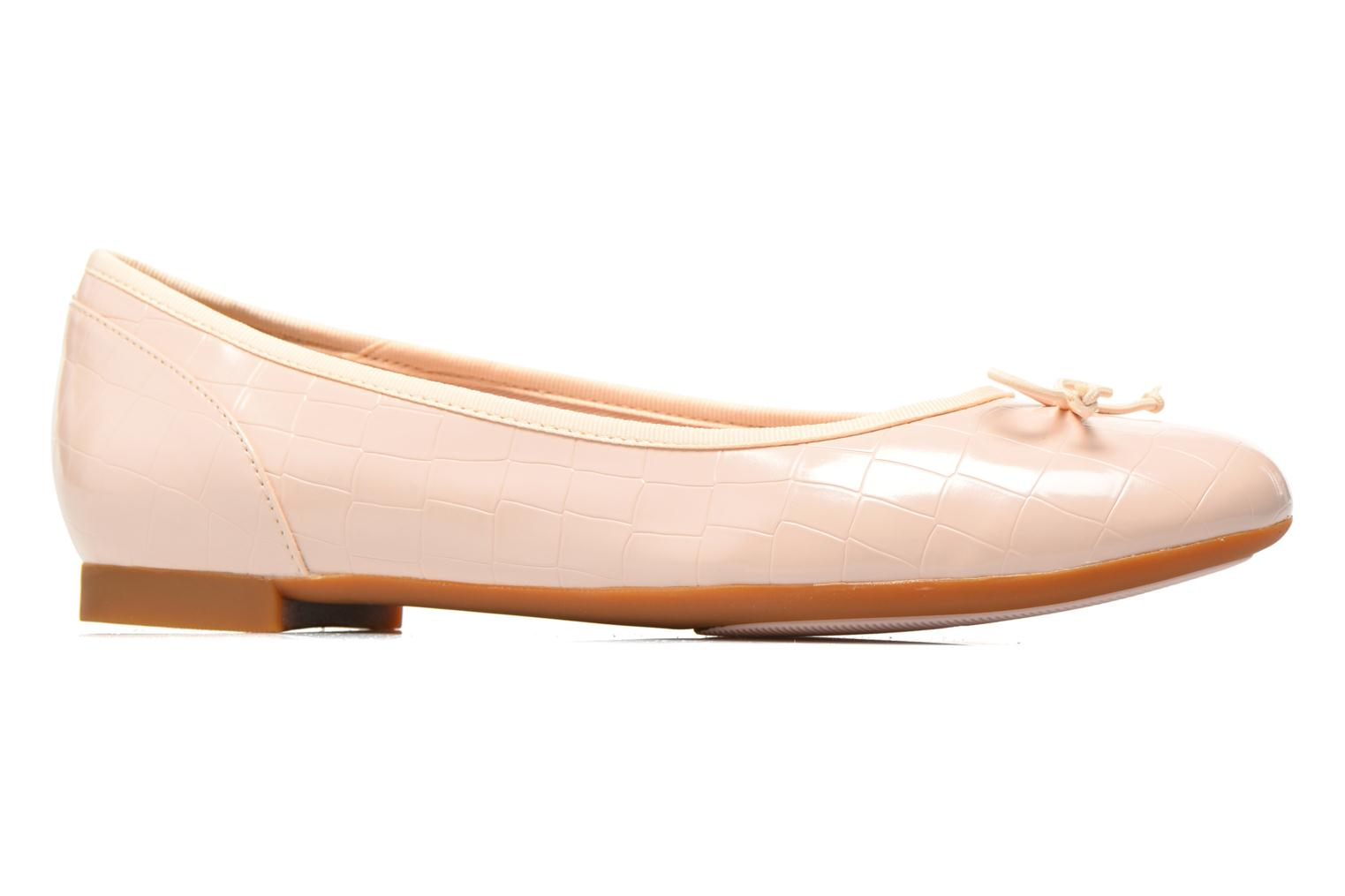 Ballet pumps Clarks Couture Bloom Pink back view