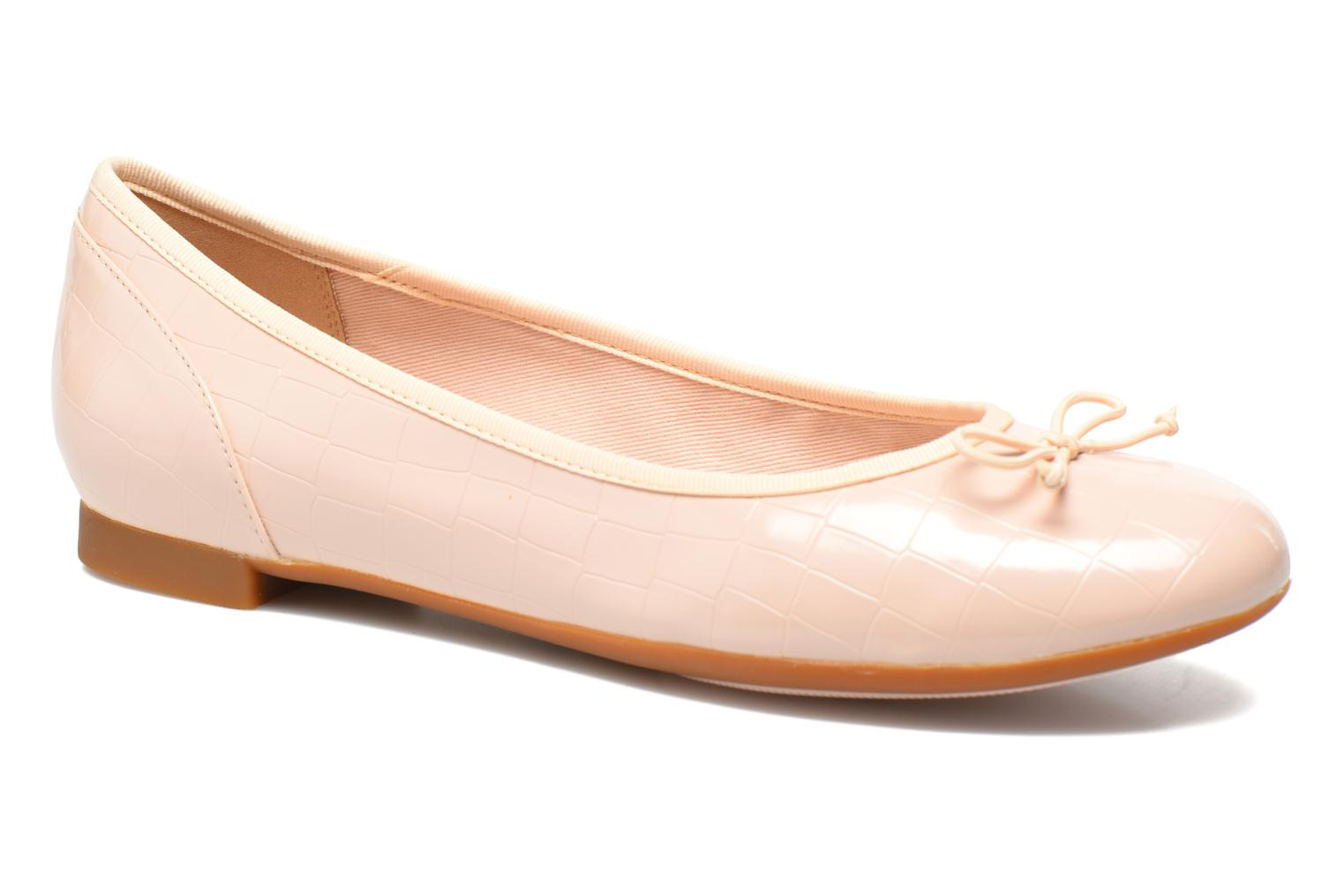 Ballerina's Clarks Couture Bloom Roze detail