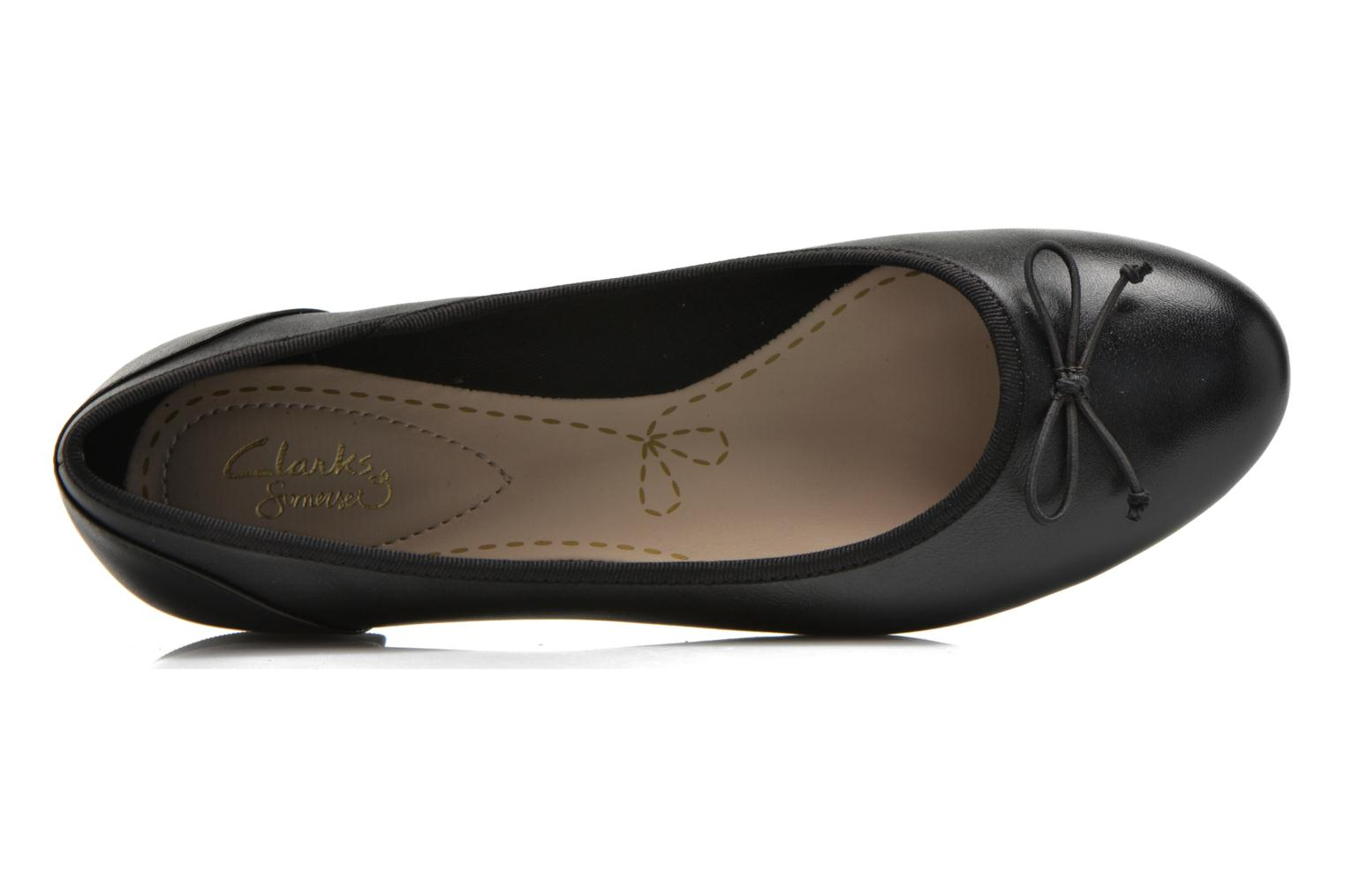 Couture Bloom Black leather