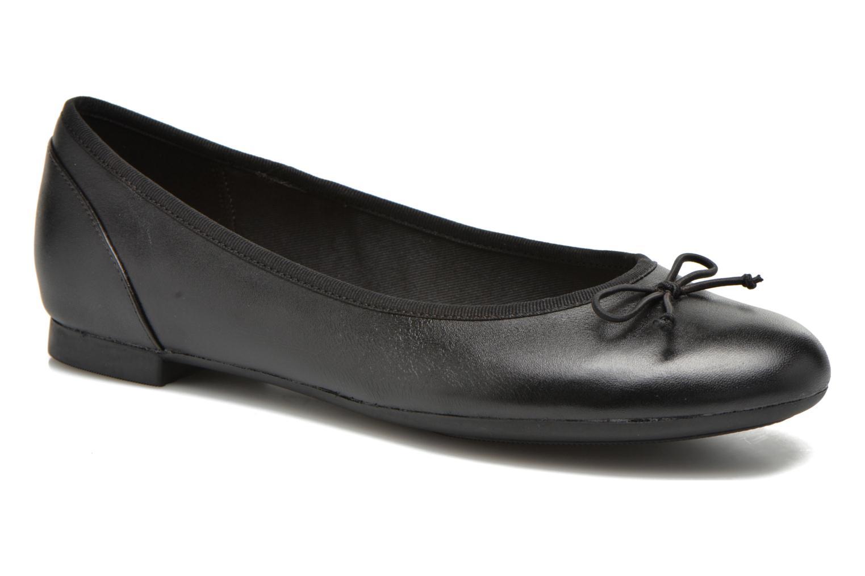 Ballerines Clarks Couture Bloom Noir vue détail/paire