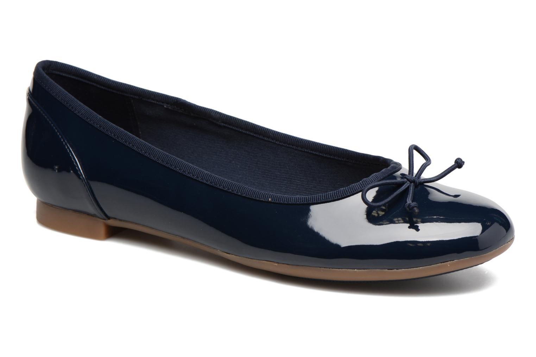 Ballerines Clarks Couture Bloom Bleu vue détail/paire