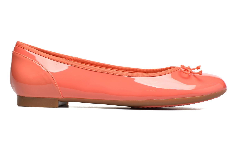 Ballerina's Clarks Couture Bloom Roze achterkant