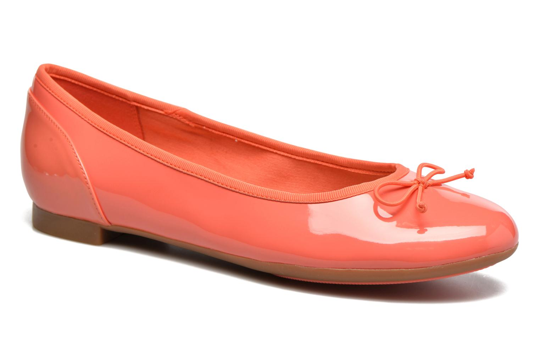 Ballerina's Clarks Couture Bloom Roze detail
