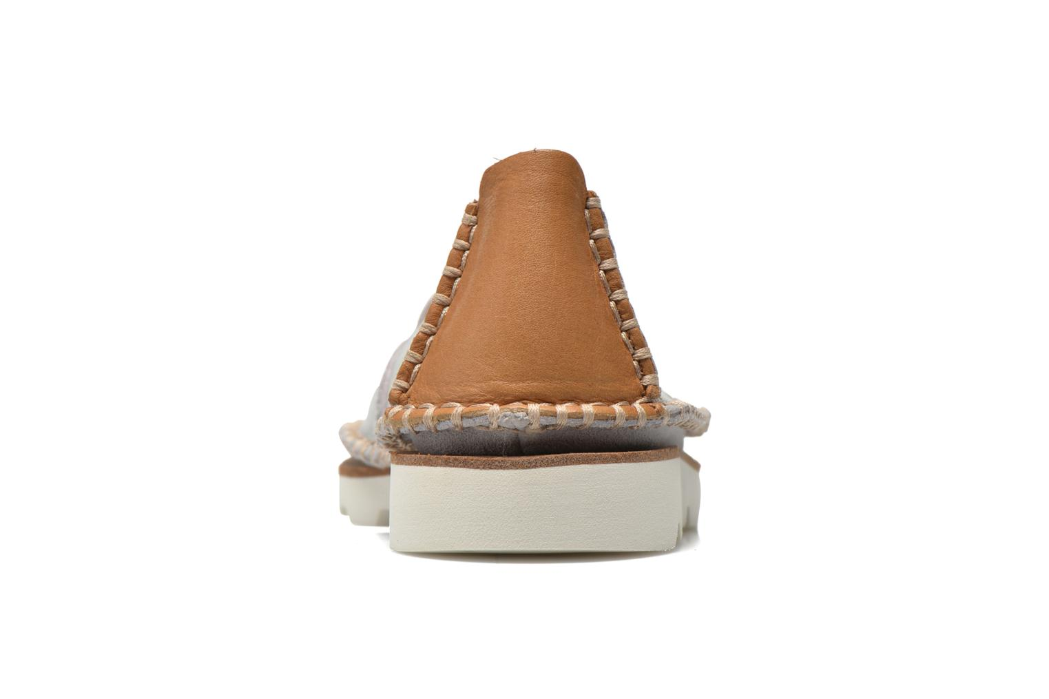 Espadrilles Clarks Damara Chic Silver view from the right