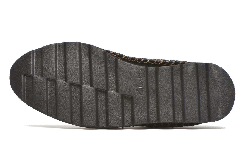 Damara Rose Black Combi Leather