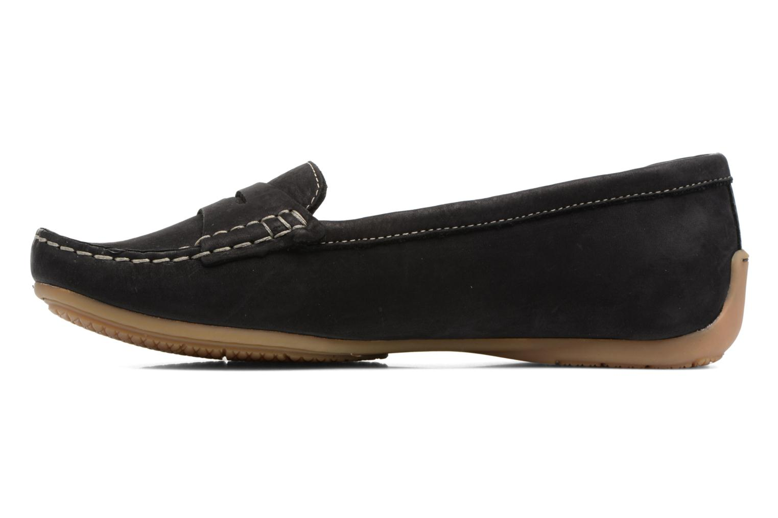 Loafers Clarks Doraville Nest Black front view