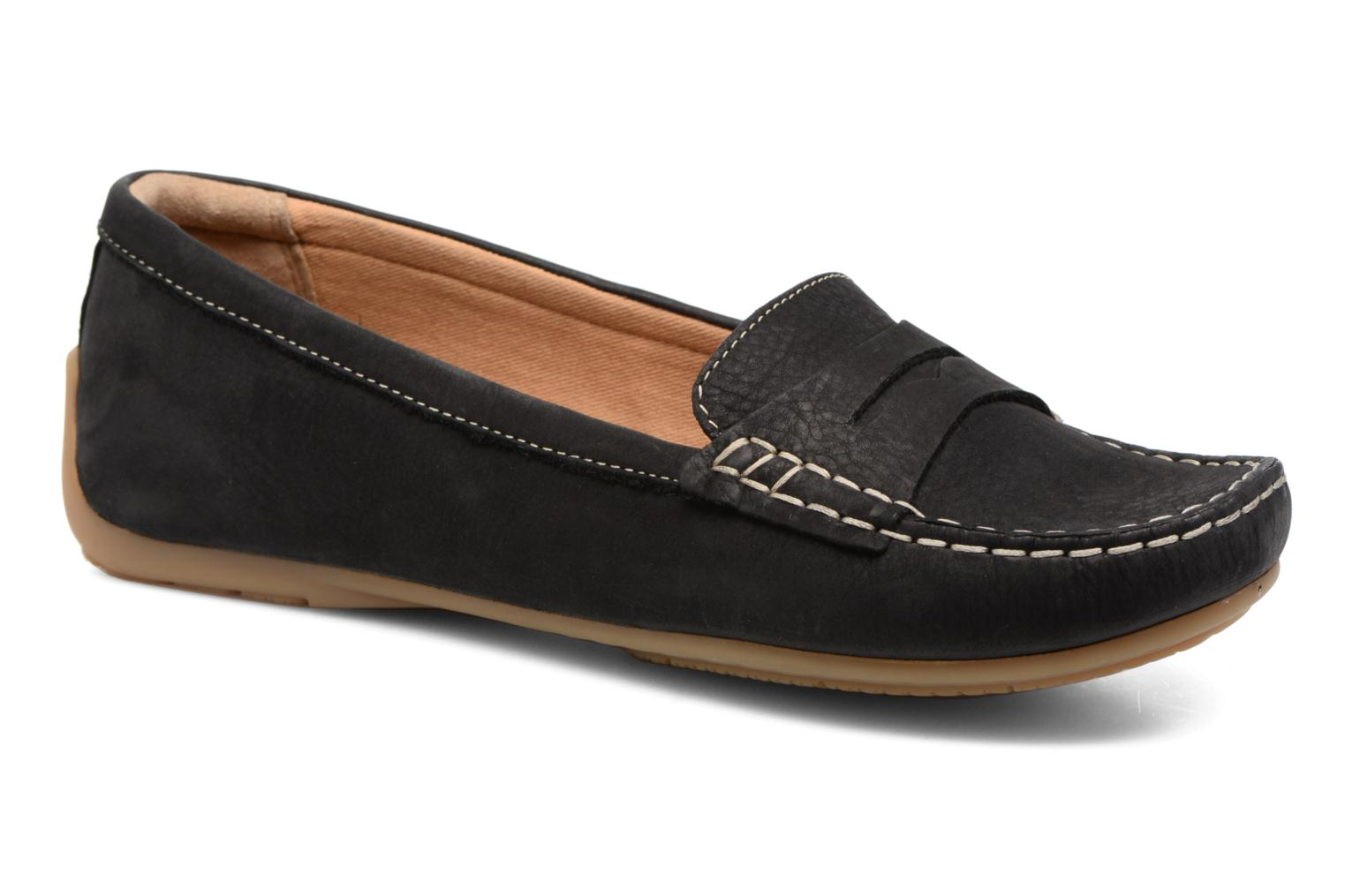 Loafers Clarks Doraville Nest Black detailed view/ Pair view