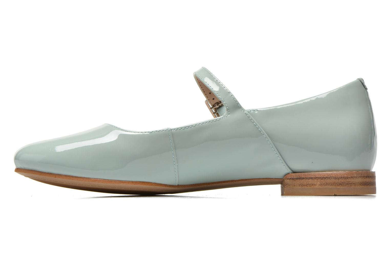 Ballet pumps Clarks Festival Glory Green front view