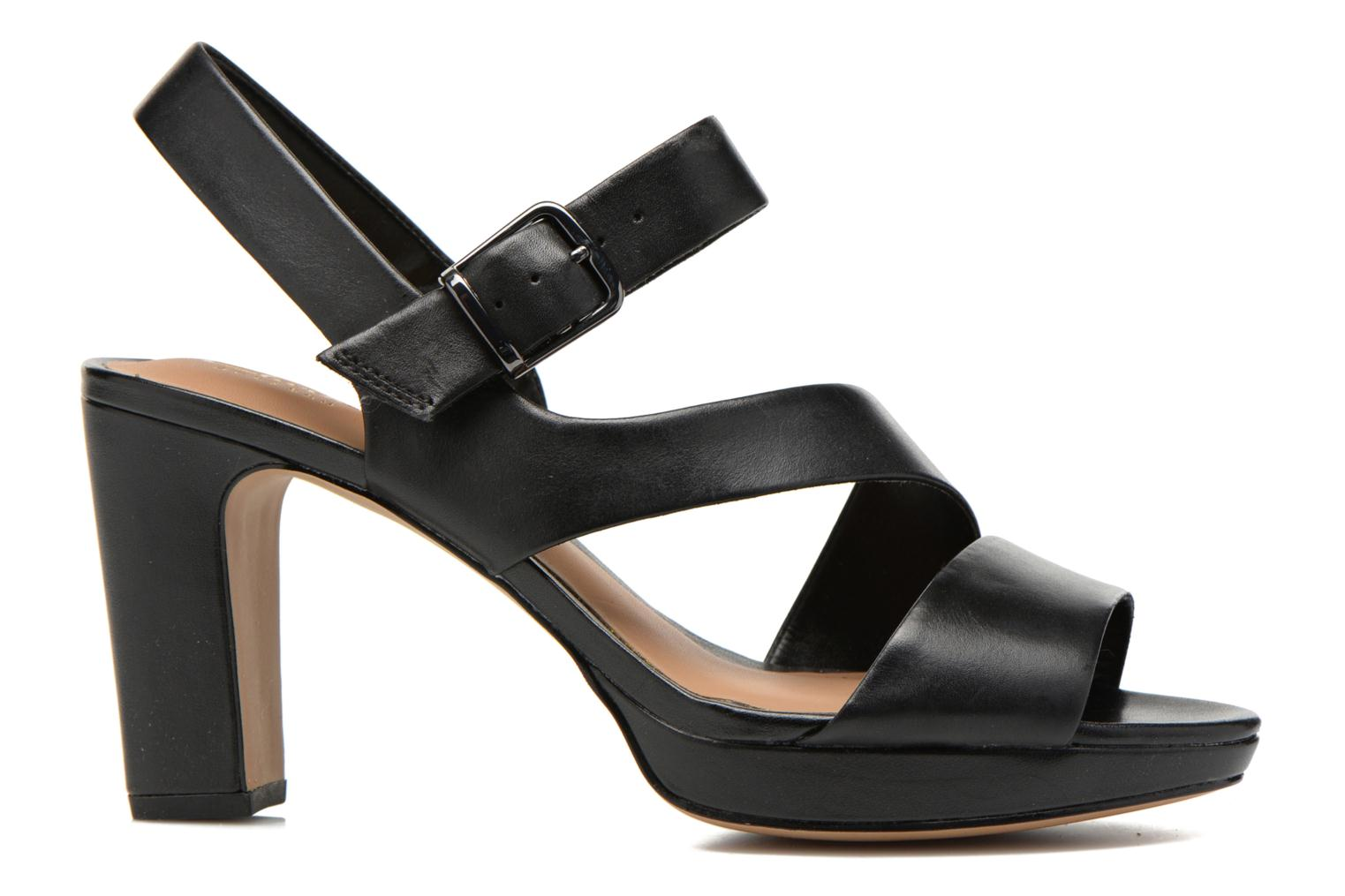 Sandals Clarks Jenness Soothe Black back view