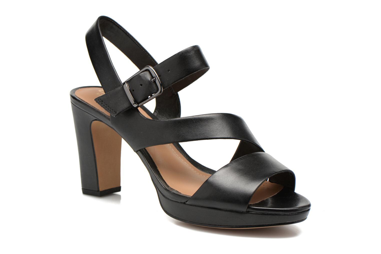 Sandales et nu-pieds Clarks Jenness Soothe Noir vue détail/paire