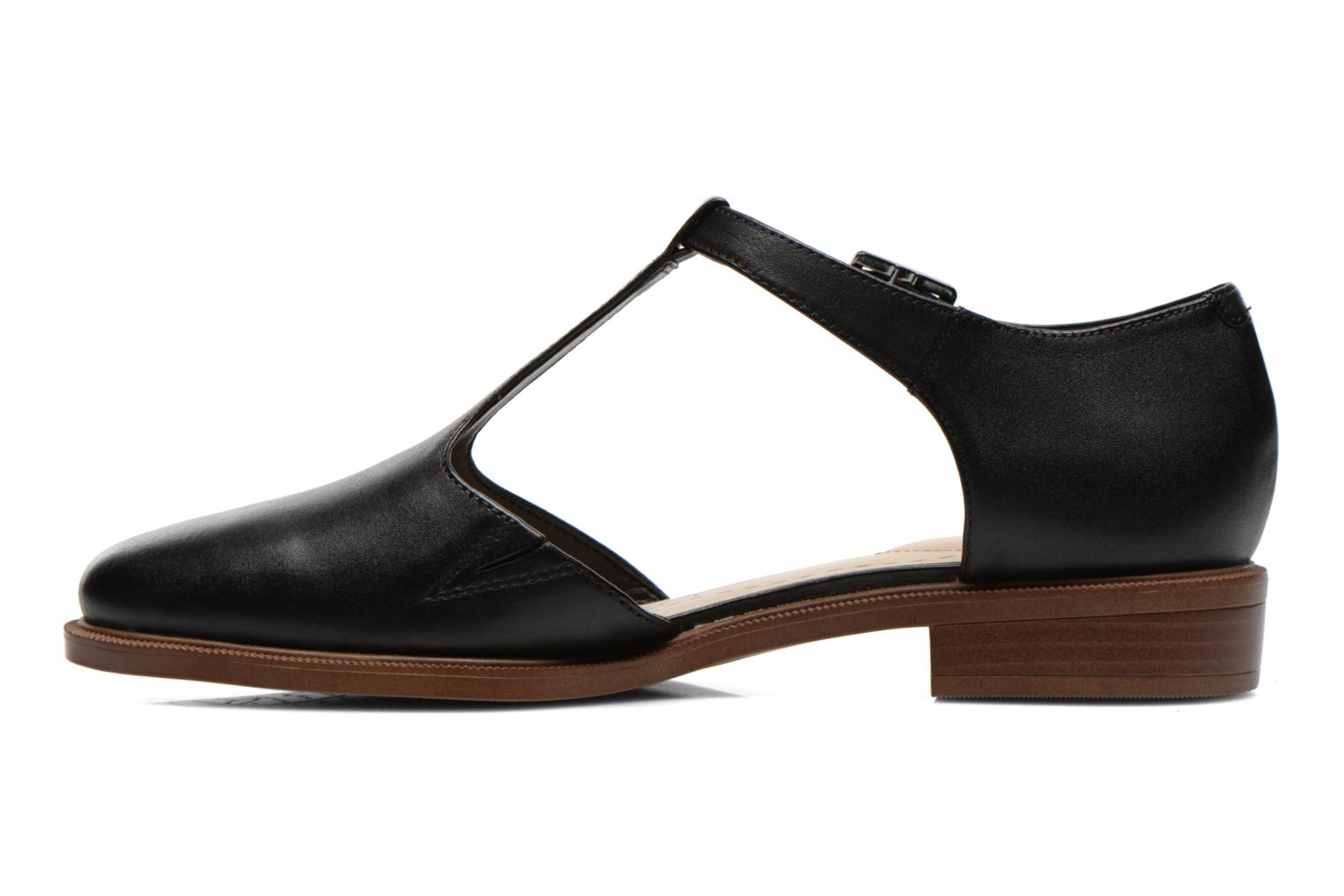 Ballet pumps Clarks Taylor Palm Black front view