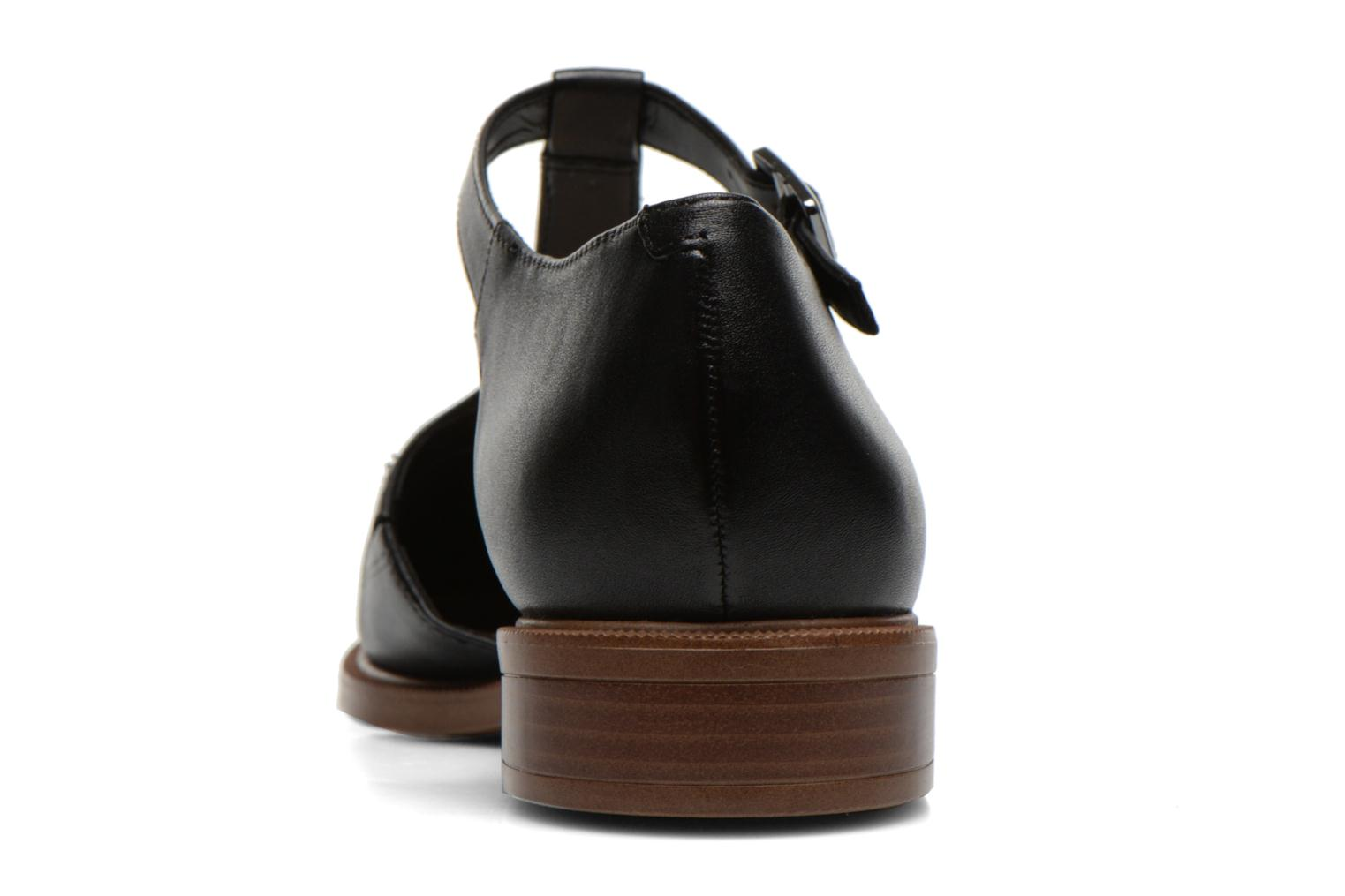 Ballet pumps Clarks Taylor Palm Black view from the right