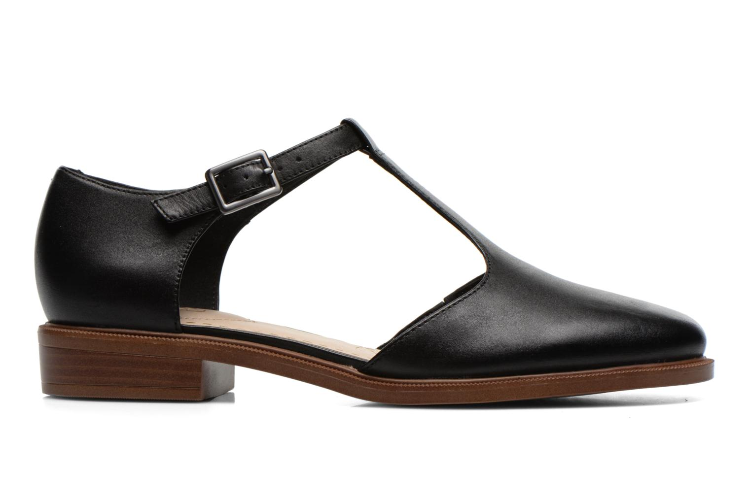 Ballet pumps Clarks Taylor Palm Black back view