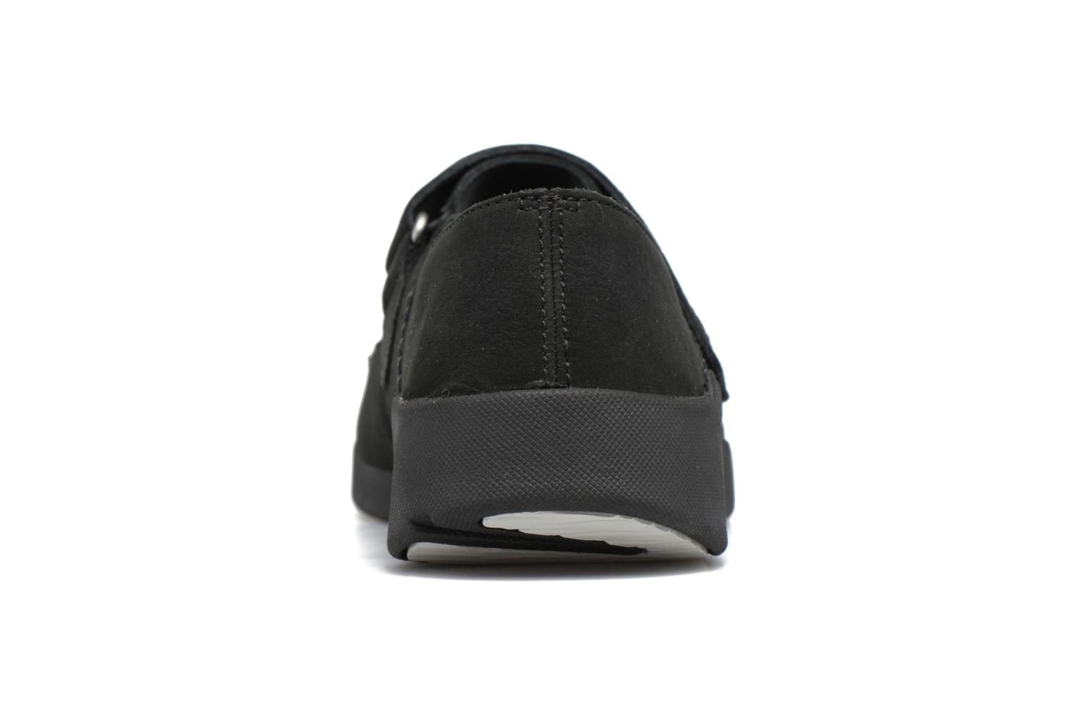 Ballet pumps Clarks Tri Amanda Black view from the right