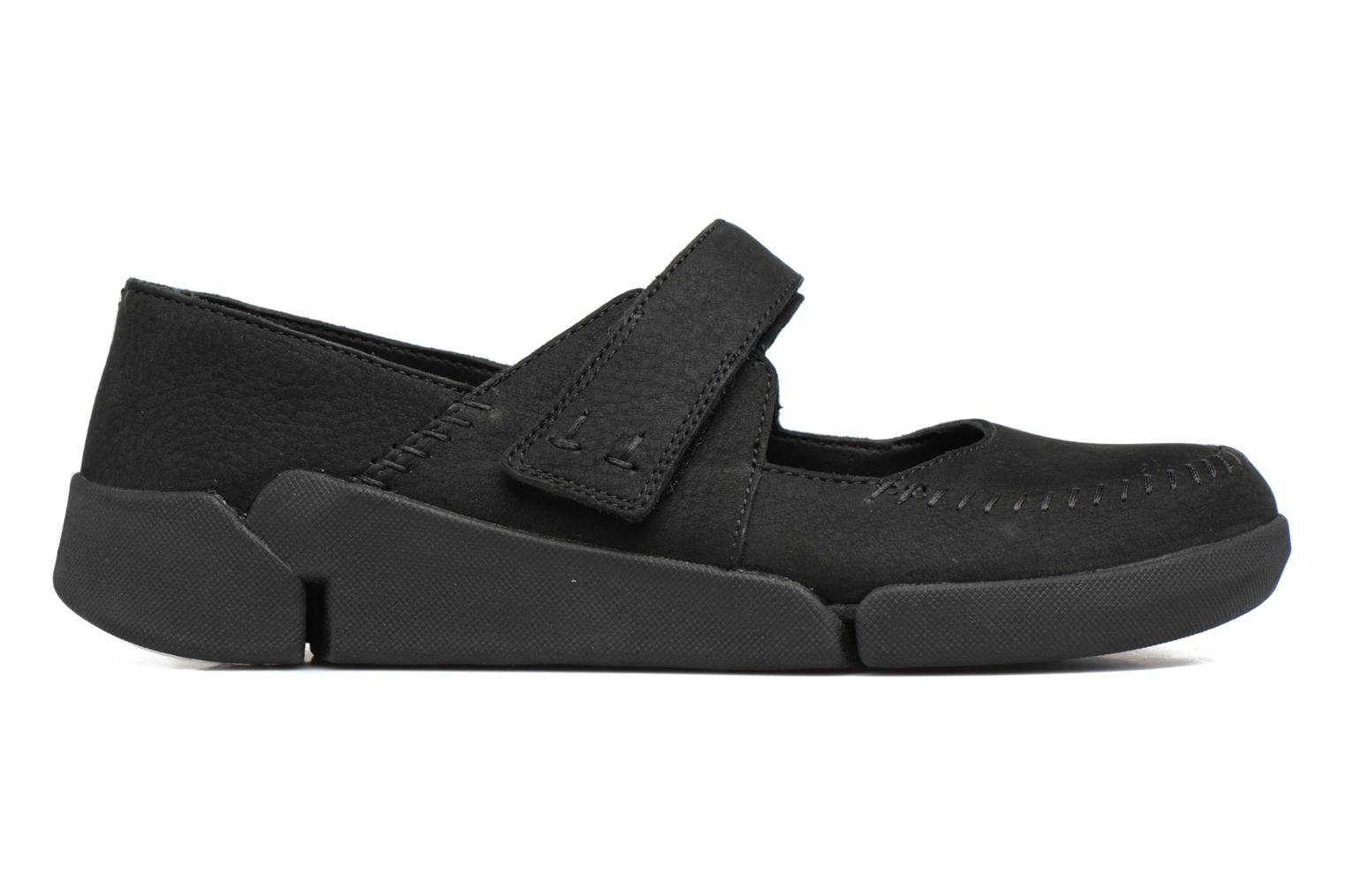 Ballet pumps Clarks Tri Amanda Black back view
