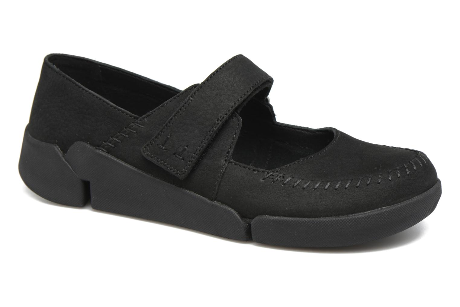 Ballet pumps Clarks Tri Amanda Black detailed view/ Pair view