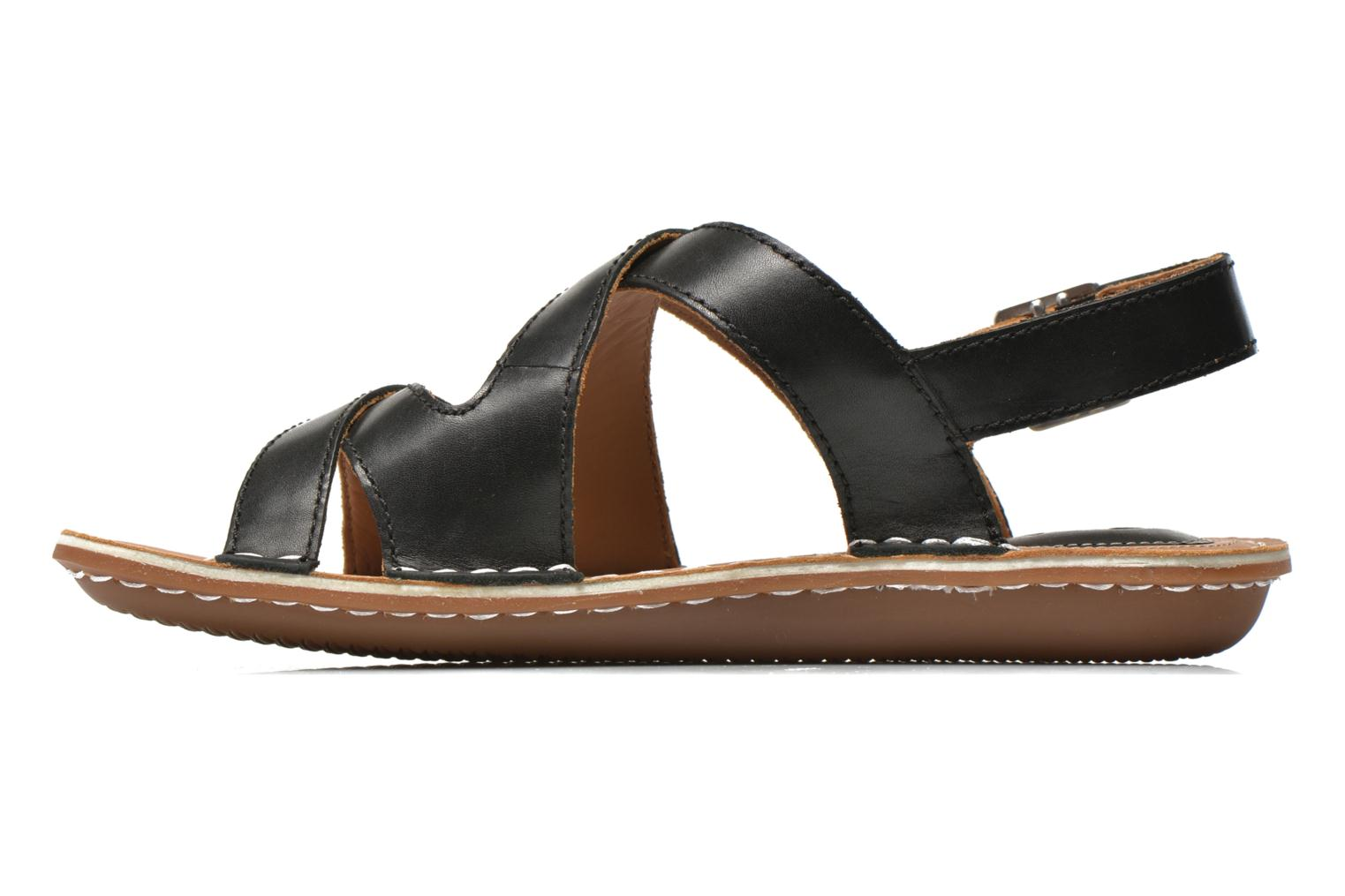 Sandals Clarks Tustin Spears Black front view