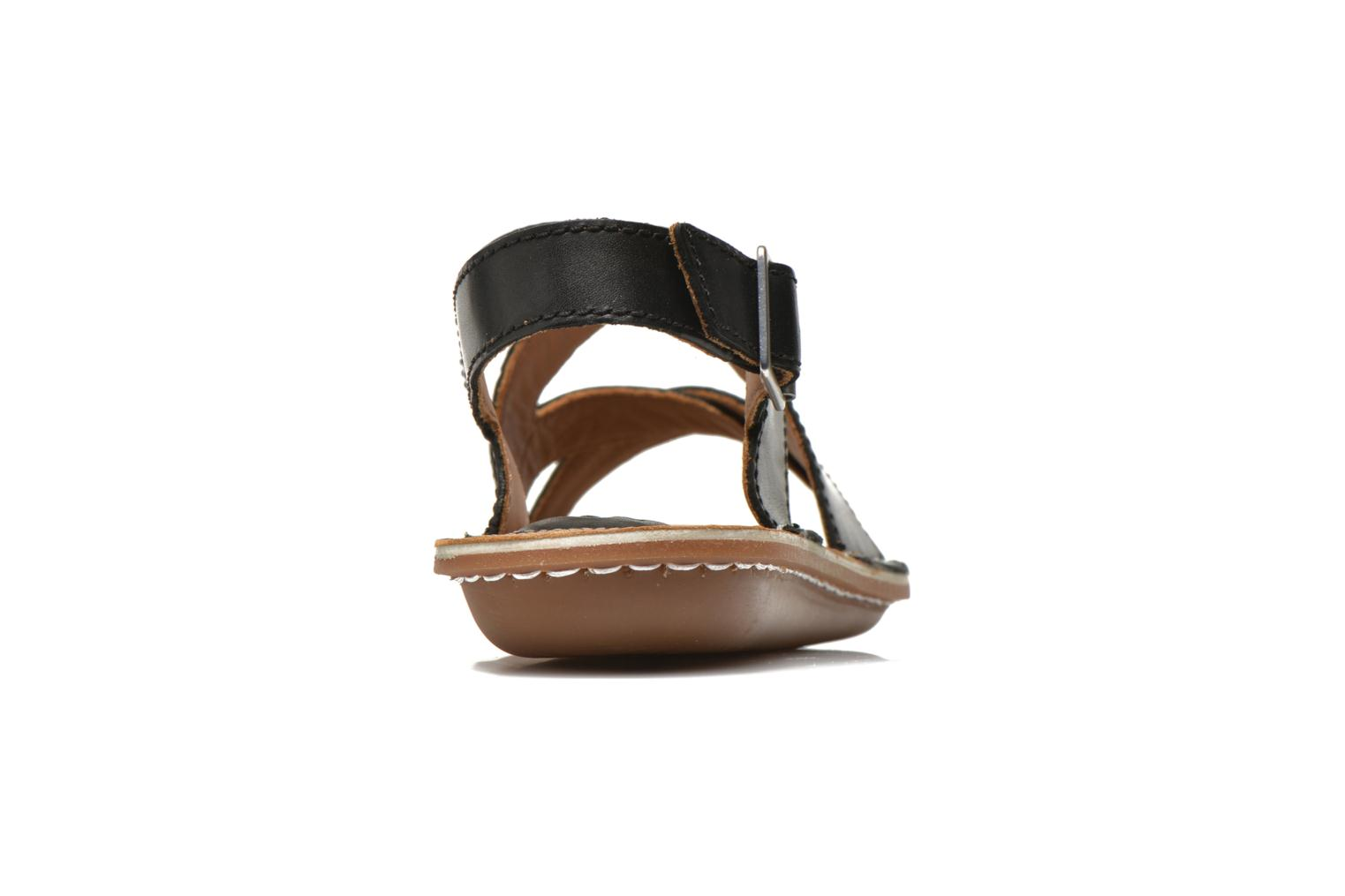 Sandals Clarks Tustin Spears Black view from the right