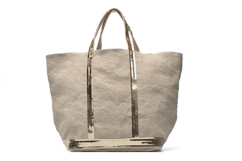 Håndtasker Vanessa Bruno Cabas Lin paillettes M+ Beige detaljeret billede af skoene