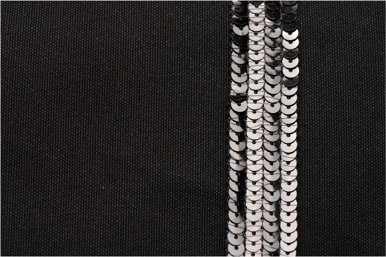 Sacs à main Vanessa Bruno Cabas Coton M+ Zip Noir vue gauche