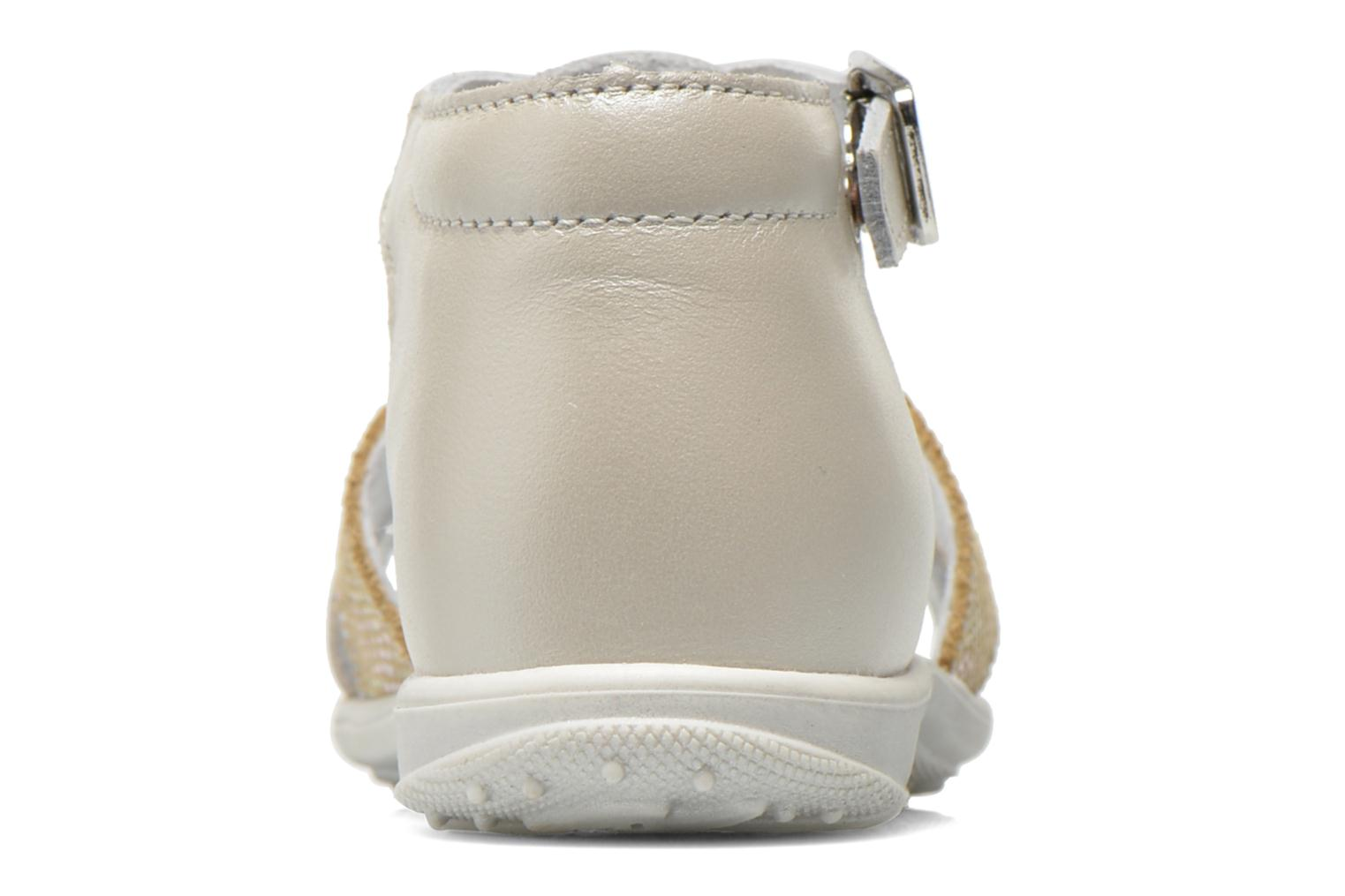 Sandals Bopy Berta Beige view from the right