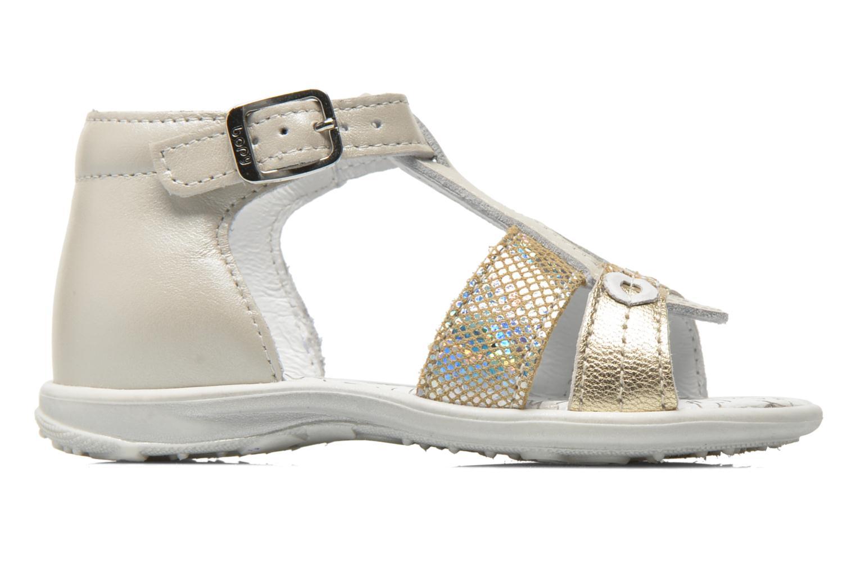 Sandals Bopy Berta Beige back view