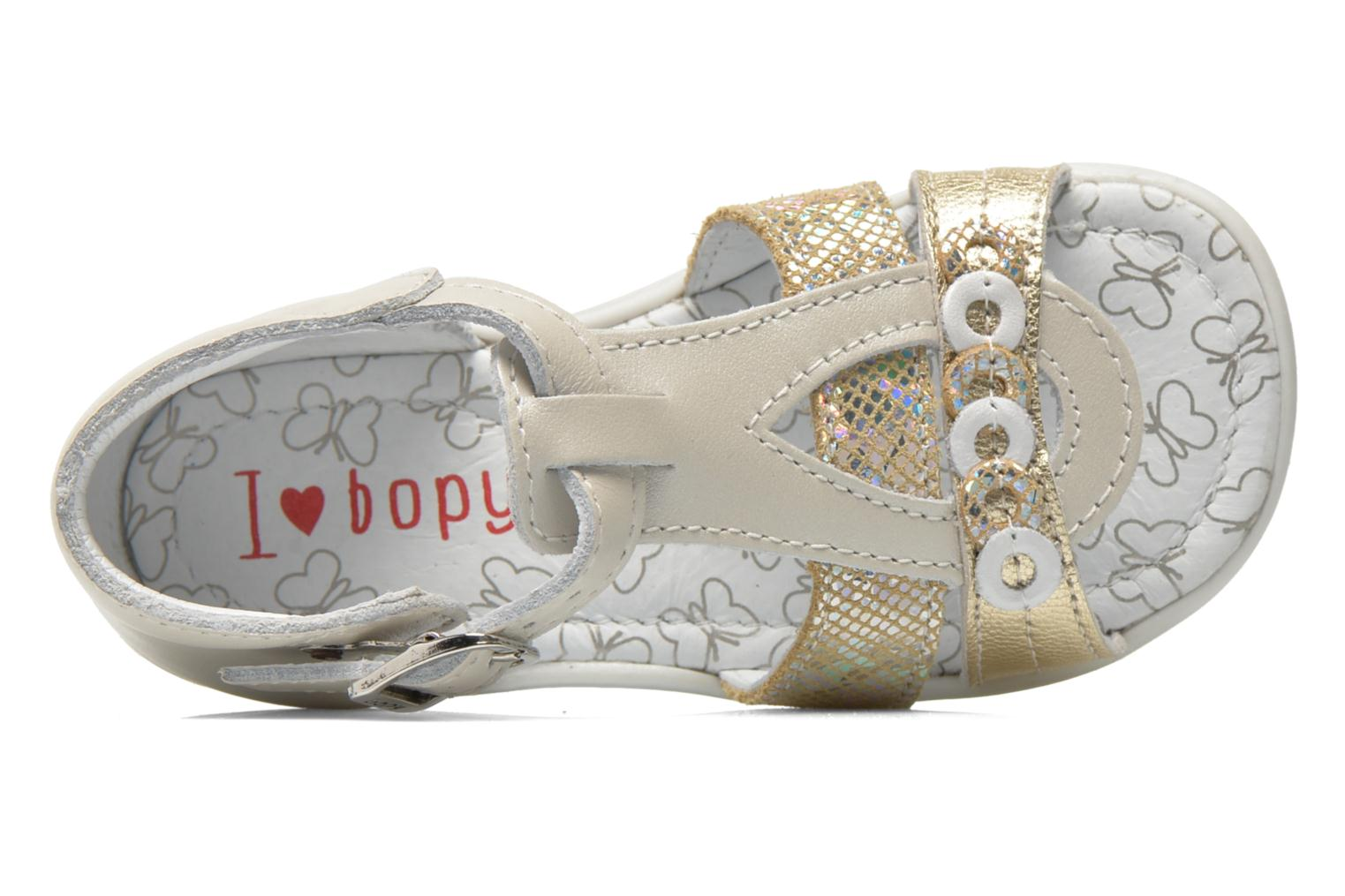 Sandals Bopy Berta Beige view from the left