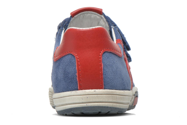 Baskets Bopy Bladimir Bleu vue droite