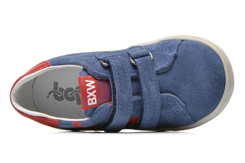 Baskets Bopy Bladimir Bleu vue gauche