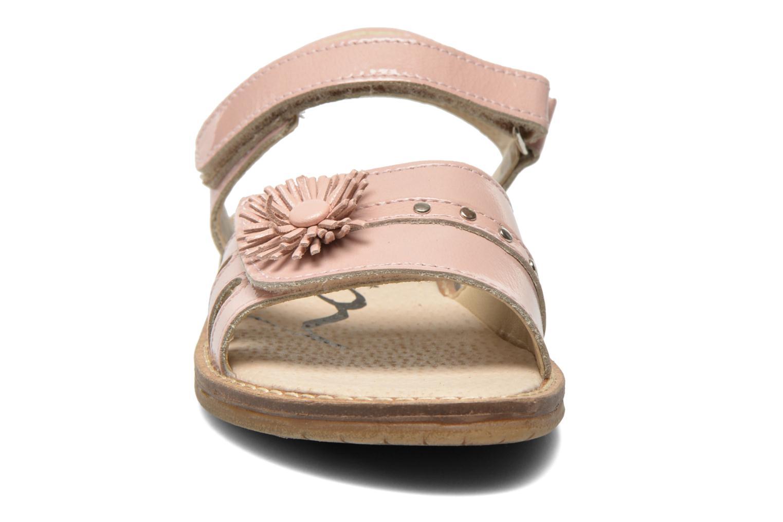 Sandalen Bopy Elysea rosa schuhe getragen