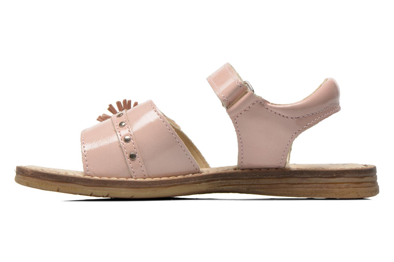Sandales et nu-pieds Bopy Elysea Rose vue face