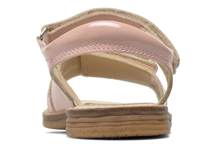Sandales et nu-pieds Bopy Elysea Rose vue droite