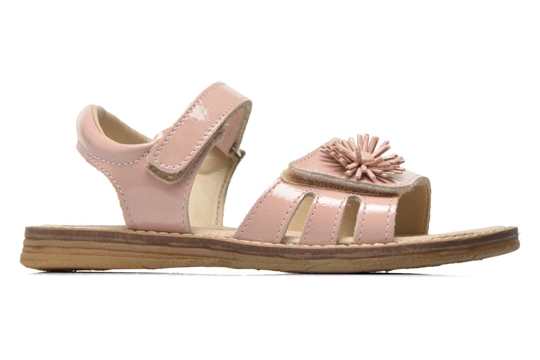 Sandales et nu-pieds Bopy Elysea Rose vue derrière