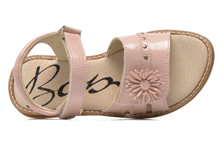 Sandales et nu-pieds Bopy Elysea Rose vue gauche