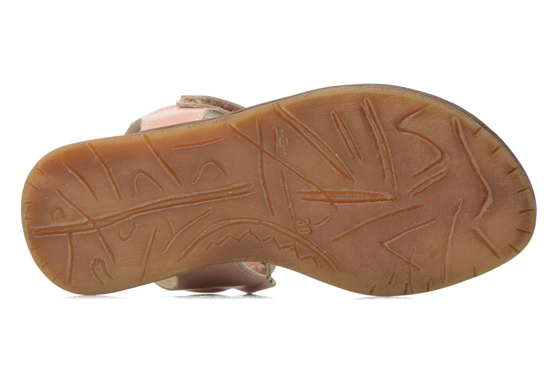 Sandales et nu-pieds Bopy Elysea Rose vue haut