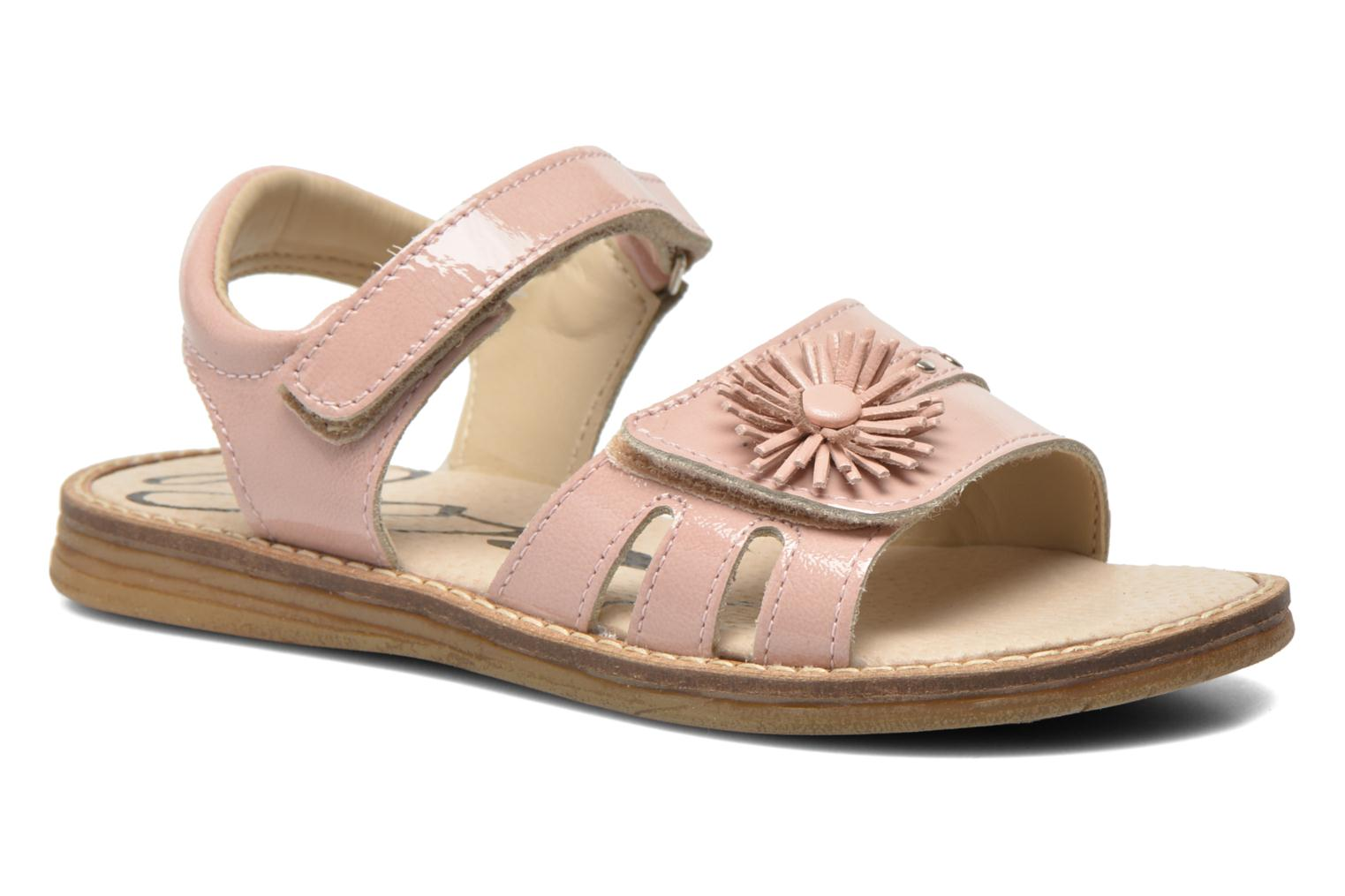 Sandals Bopy Elysea Pink detailed view/ Pair view