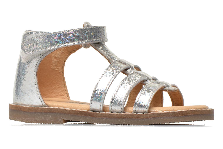 Sandales et nu-pieds Bopy Hapela kouki Argent vue derrière