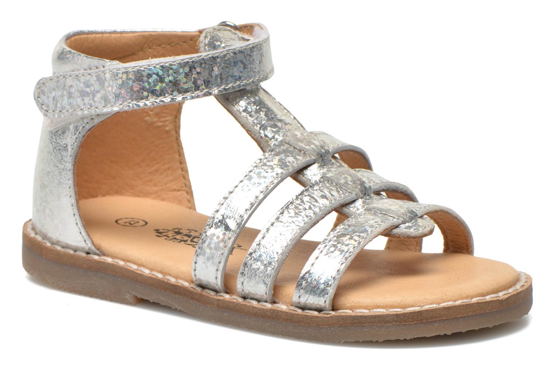 Sandales et nu-pieds Bopy Hapela kouki Argent vue détail/paire