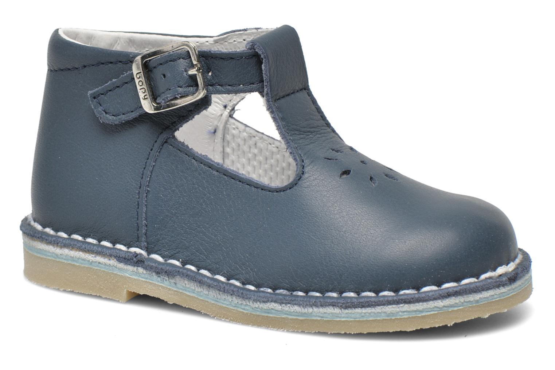 Sommersko Bopy Mapil Blå detaljeret billede af skoene