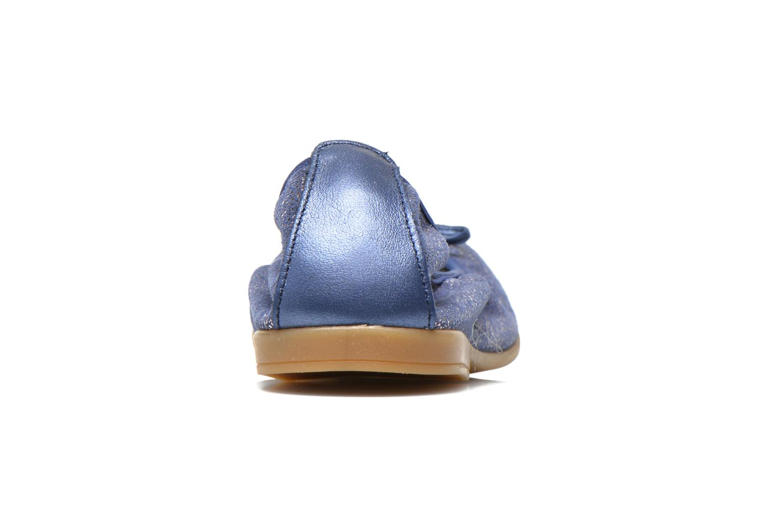 Ballet pumps Bopy Sibylle Blue view from the right