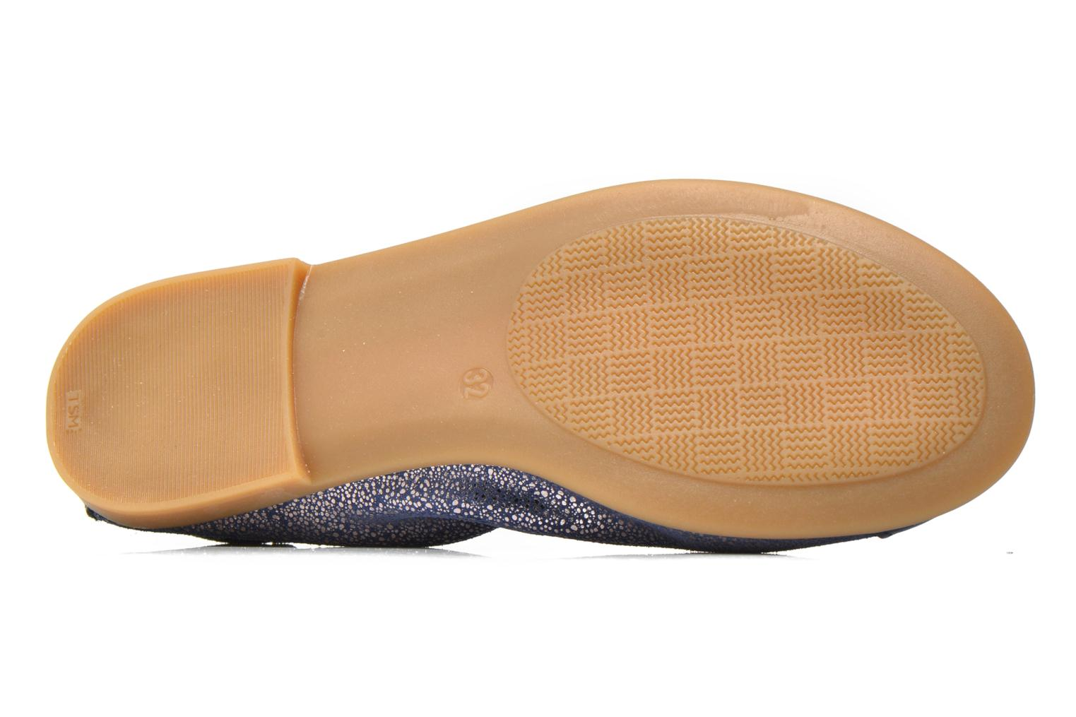 Ballet pumps Bopy Sibylle Blue view from above