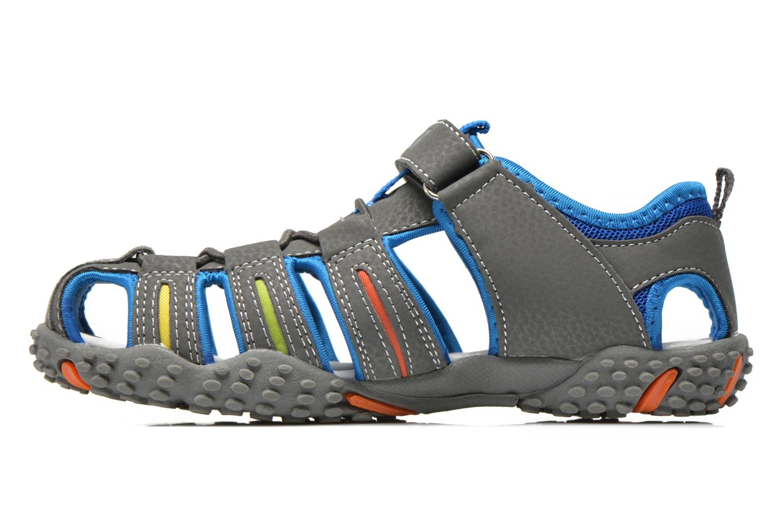 Sandalen Bopy Tiporal grau ansicht von vorne