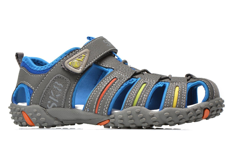 Sandales et nu-pieds Bopy Tiporal Gris vue derrière