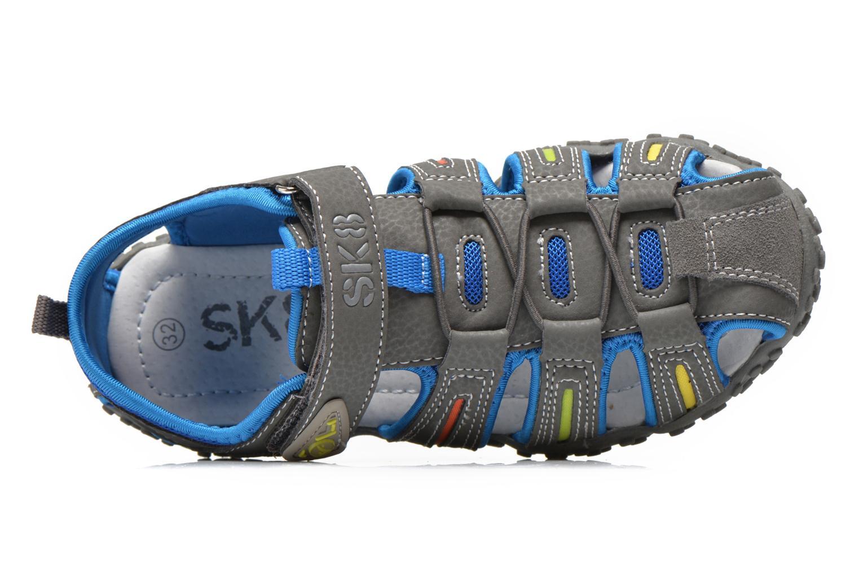 Sandales et nu-pieds Bopy Tiporal Gris vue gauche