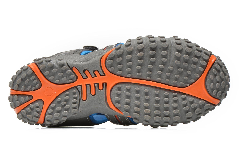 Sandales et nu-pieds Bopy Tiporal Gris vue haut
