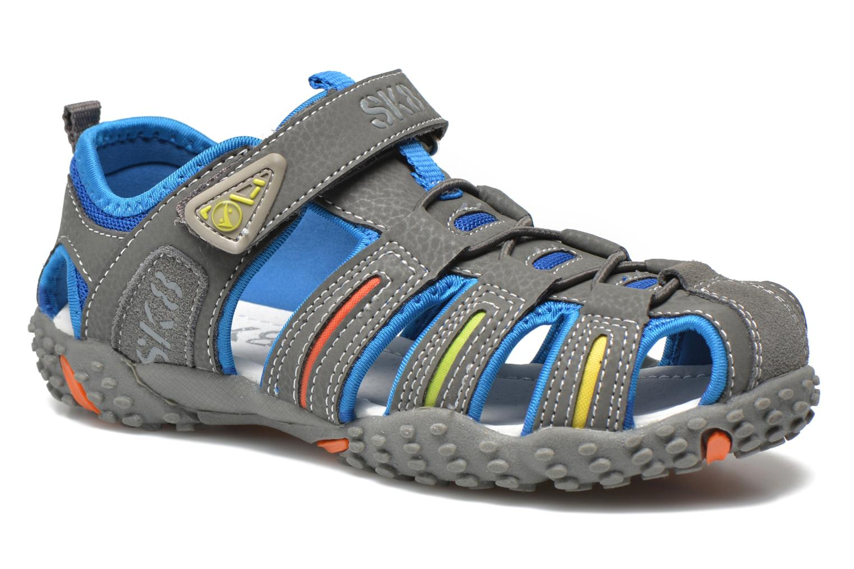 Sandales et nu-pieds Bopy Tiporal Gris vue détail/paire
