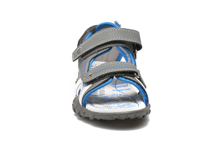 Sandalen Bopy Turgico grau schuhe getragen