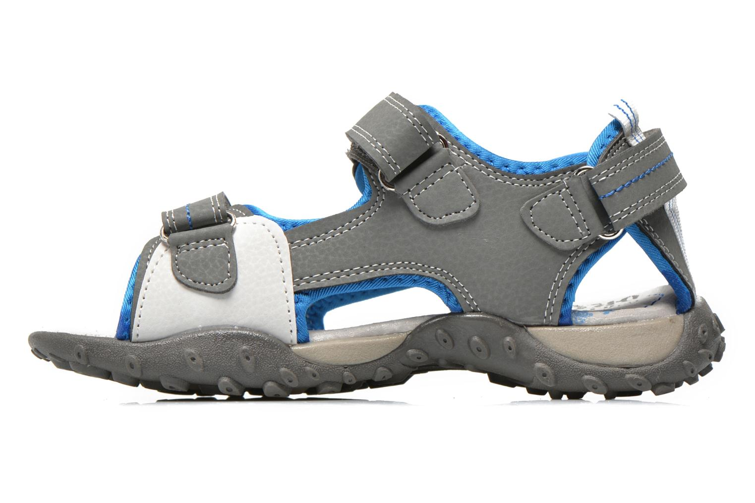 Sandals Bopy Turgico Grey front view